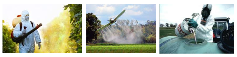 Pesticides handling and spraying