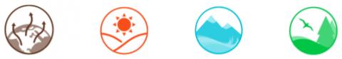 Environmental indicator icons