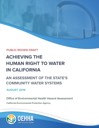 Achieving the Human Right to Water Report Cover August 2019