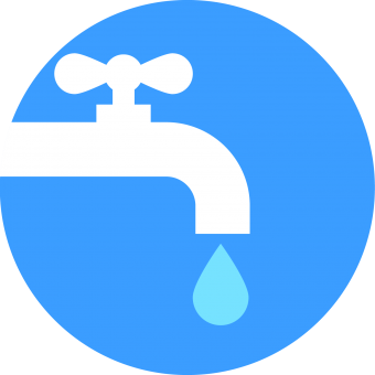 Human Right to Water image of faucet